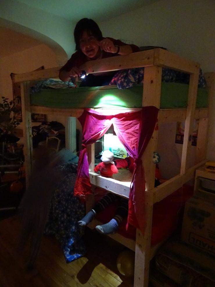 Théâtre de marionnettes improvisé! | Thierry Pardo. Une éducation sans école